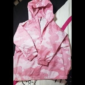 Childrens Place Girls Pink Camo Jacket szXS (4)